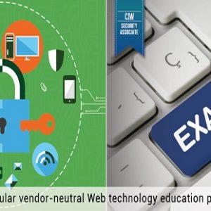 CIW Web Security Associate Training With Exam (1D0-571)